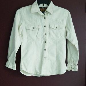 Harley Davidson Western style button-up shirt